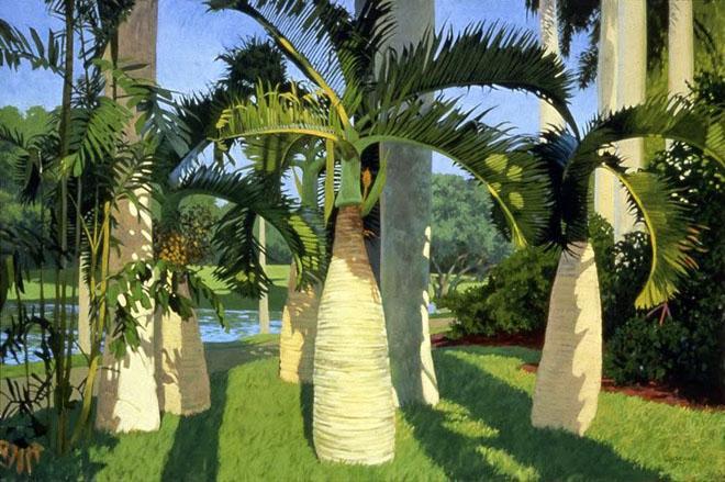 Пальмы на природе